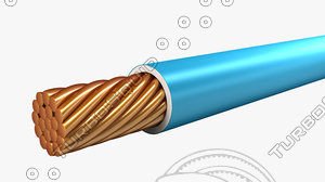 electrical cables building wire 3d model