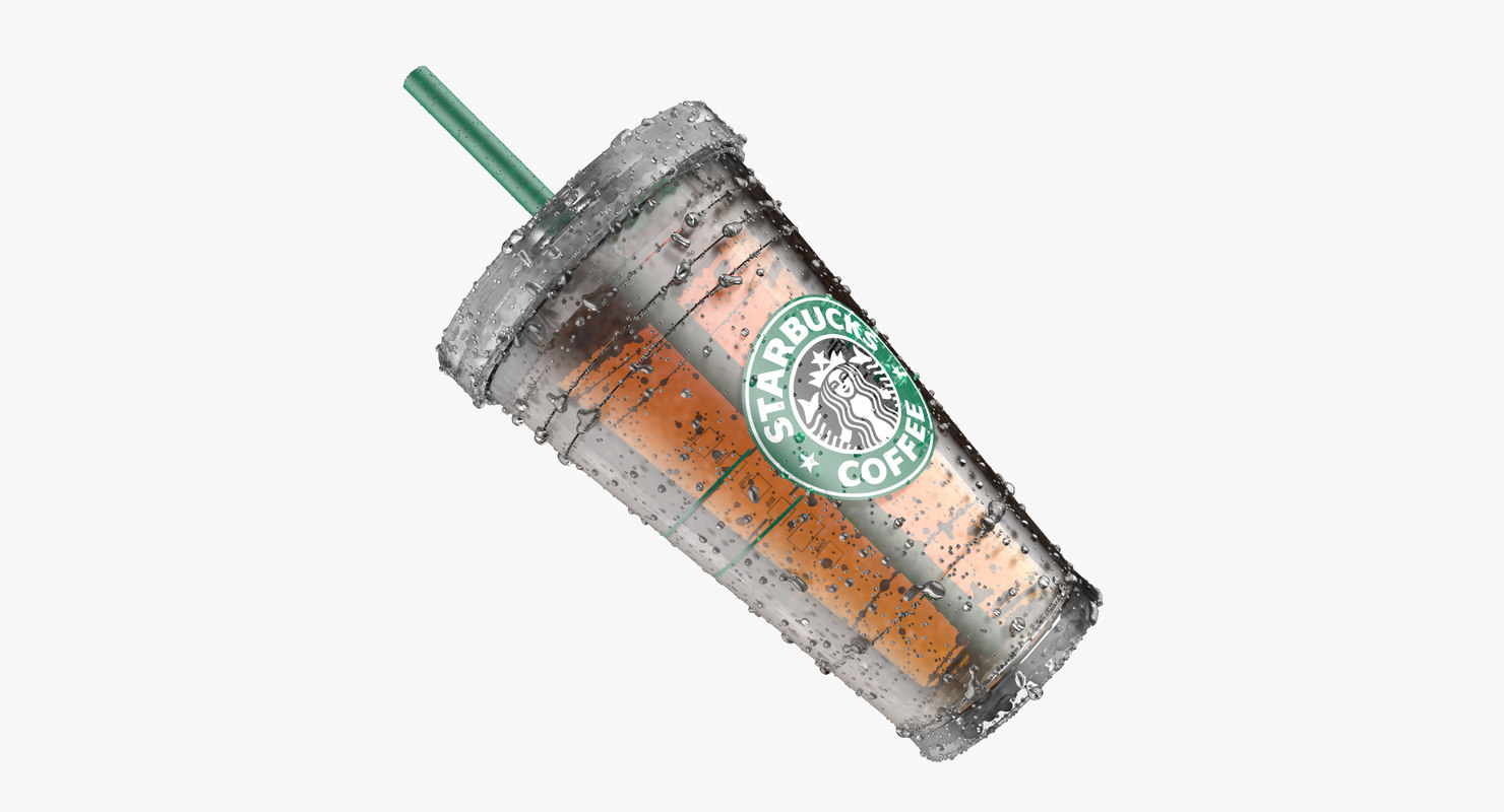 3d beverages cup straw