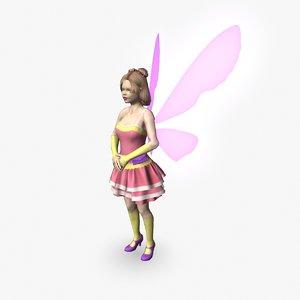 fbx fairy girl