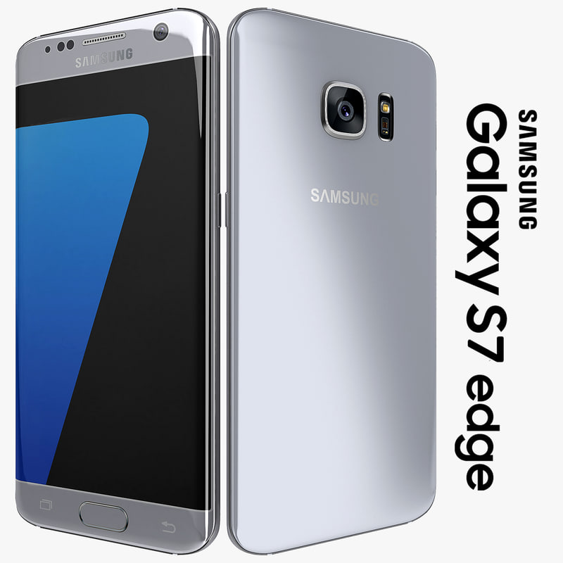 3d model samsung galaxy s7 edge