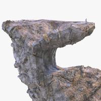 3d model big rock 1