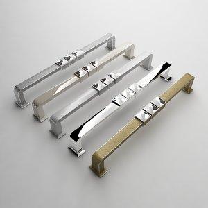kitchen door handle 4195 3d max