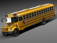 HQ LowPoly IC CE Series Schoolbus 2015