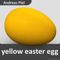 c4d egg yellow