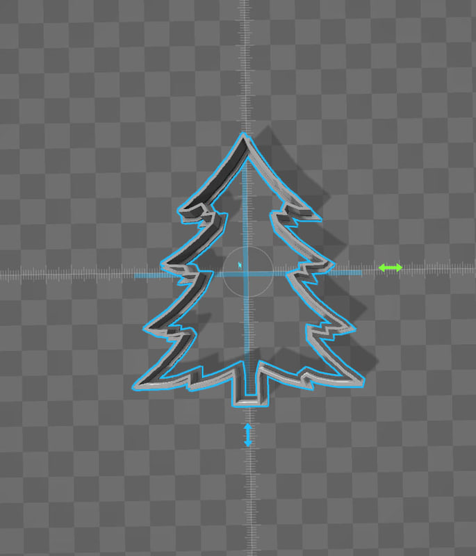 3ds cookie cutter christmas tree