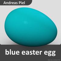 c4d egg blue