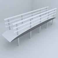 bridge design 3d model