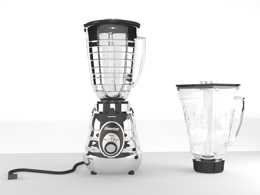 blender mitxer kitchen 3d max