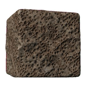 Honey Comb Asteroid Rock
