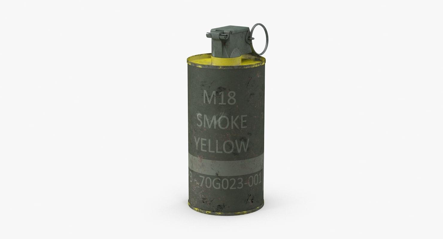 M18 Smoke Grenade