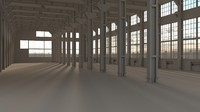 3d factory warehouse