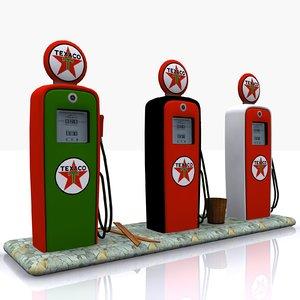 gas pump texaco max