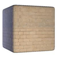 Clean Beige Bricks