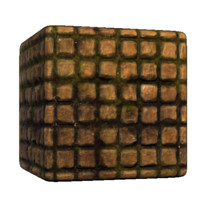 Square Brick Cobblestones
