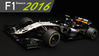 F1 Sahara Force India VJM09 2016