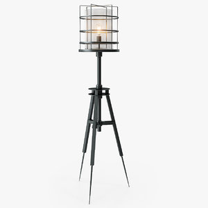 3d surveyor s floor lamp