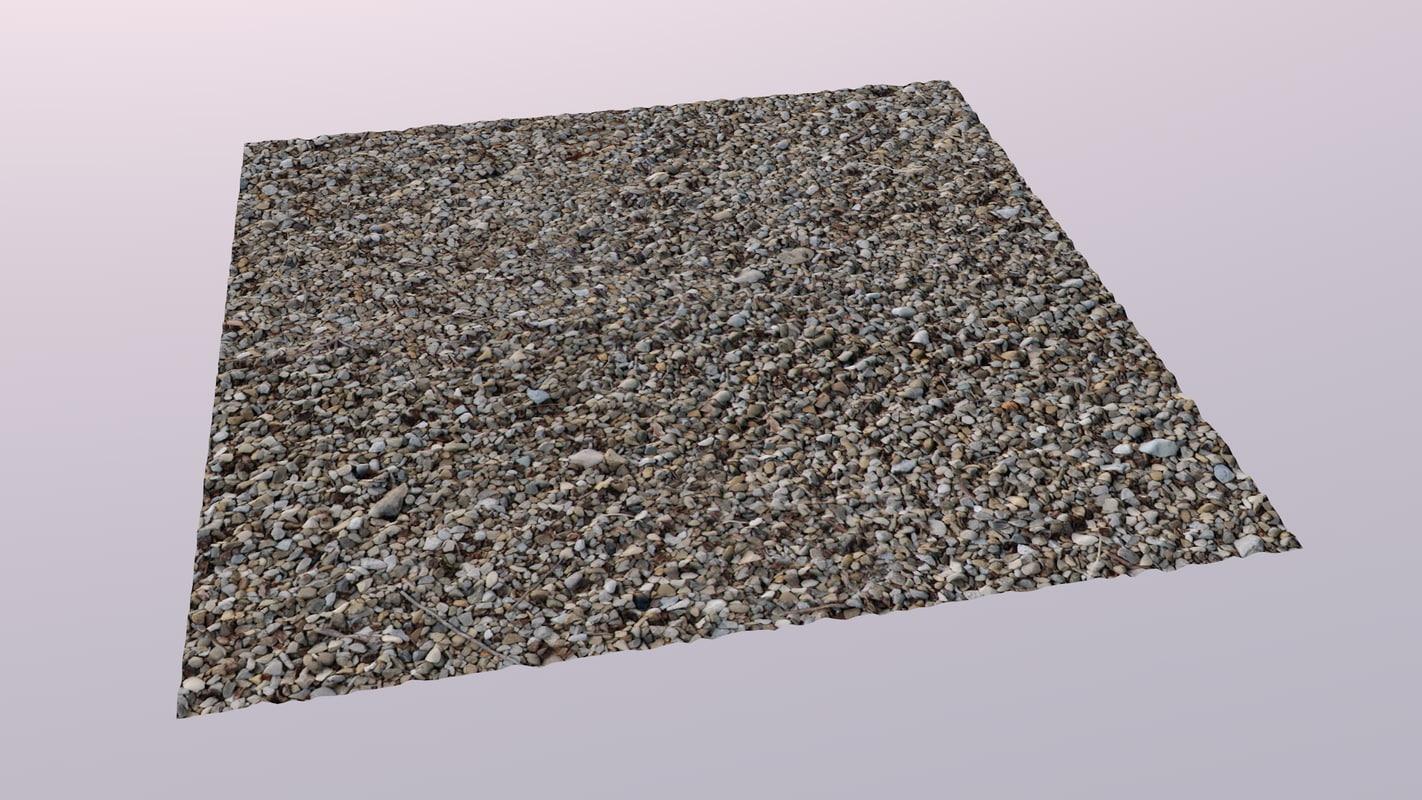 3d model resolution gravel