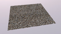 Gravel - Model/Texture (Seamless)