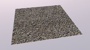 3d model resolution gravel