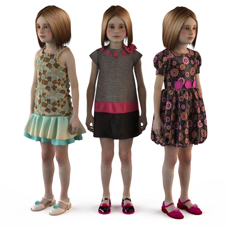 max fashion set child dressed