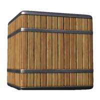 Clean Oak Barrel