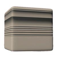 Clean Plaster Base Molding