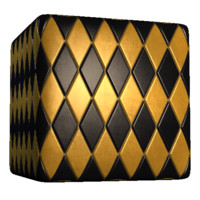 Colored Diamond Tiles