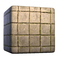 Concrete Square Tile