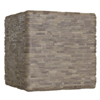 Stacked Rustic Wood Wall