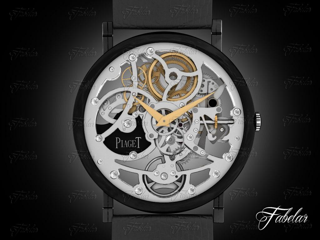 watch mechanism 24 3d max