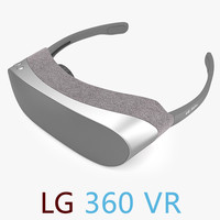 LG 360 VR Virtual Reality Headse
