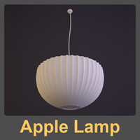 George Nelson - Apple Lamp