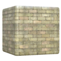 Cracked White Brick