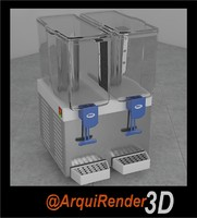 3d juice dispenser model