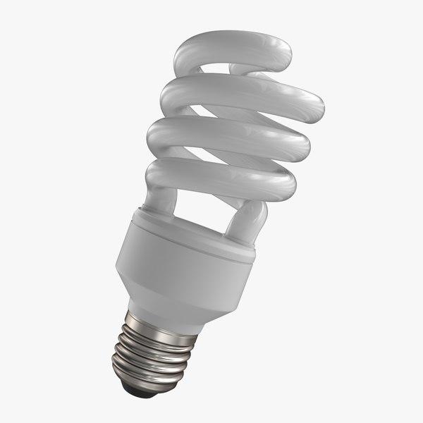 energy saving light 3d model