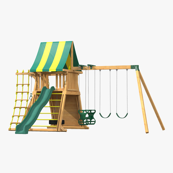 jungle gym 3d c4d