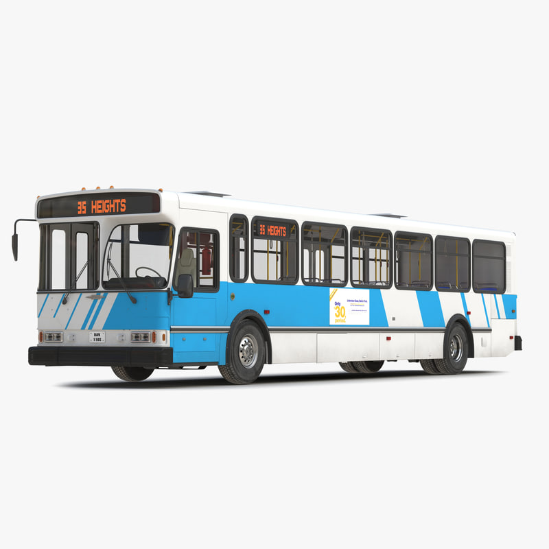 3d orion v transit bus interior