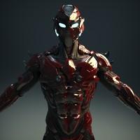 Sci-Fi Robot Cyborg