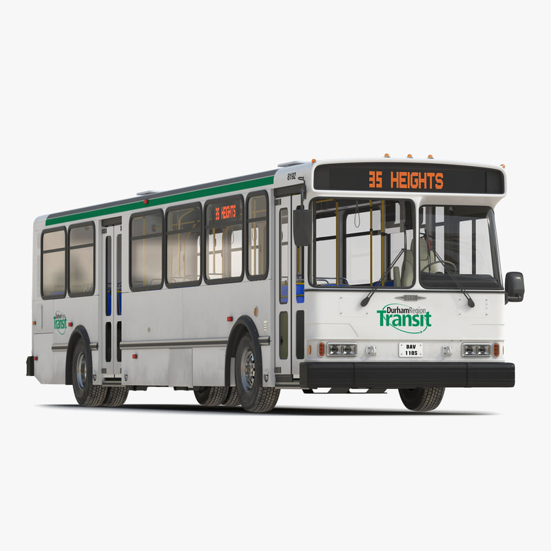 3d model orion v transit bus