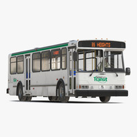 3d model orion v transit bus
