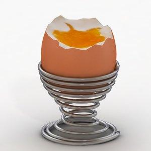 egg nads stand 3d obj