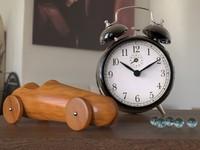 Clock & Car
