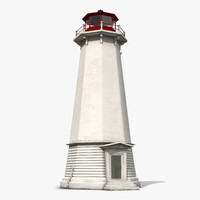 lighthouse light house 3d max