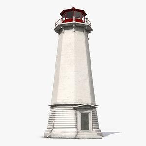 lighthouse light house 3d max