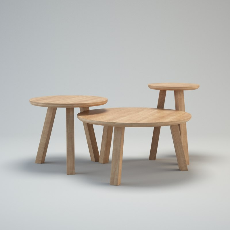 3d bosc escamp tables model