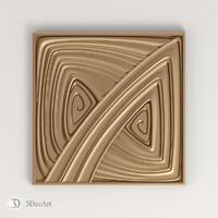 max decorative square cnc