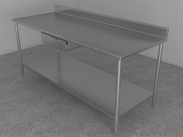 table work 3d model