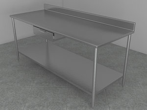 table work 3d model