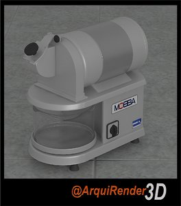 3d industrial cheese grater model