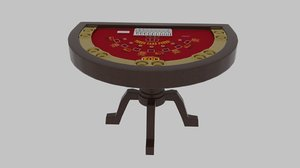 card table 3d model